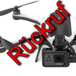 Rückruf der GoPro Karma: Drohne soll nicht mehr genutzt, sondern zurückgegeben werden