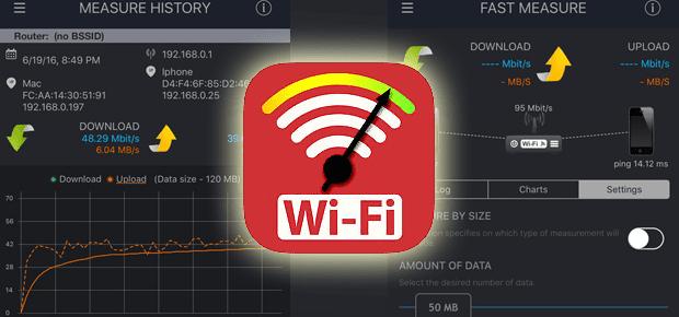 wifi speedtest ios app dowload wlan testen problem kostenlos