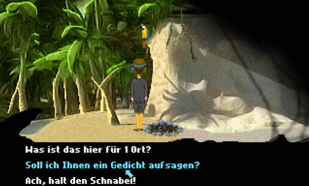 Das Game Royale 2, The Secret of Janis Island, ist wieder voll mit Anspielungen - auf Lucas Arts, auf Lost, auf das Neo Magazin Royale mit Jan Böhmermann und so ziemlich alle Themen, die in diesem Jahr behandelt wurden.