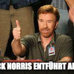 Chuck Norris und die Aliens.