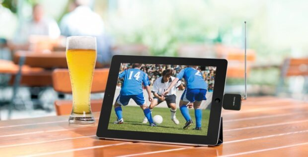 Mobil und live fernsehen per iPhone, iPad, iPod und so weiter geht mit dem Geniatech eyeTV mobile ganz einfach und per Lightning-Anschluss! Bild: geniatech.eu