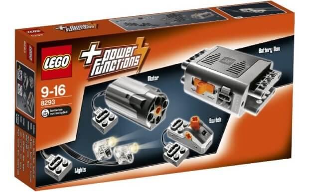 """LEGO 8293 Power Functions Set für bereits ambitionierte und gar nicht so """"kinderleichte"""" Projekte mit Motoren. Bild: Amazon"""