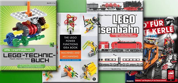 Lego Power Functions Bücher Lego Power Functions Anleitungen in Form von Büchern. Online findet man keine richtigen Anleitungen, Bauinformationen oder andere Hilfestellungen. Produktbilder: Amazon
