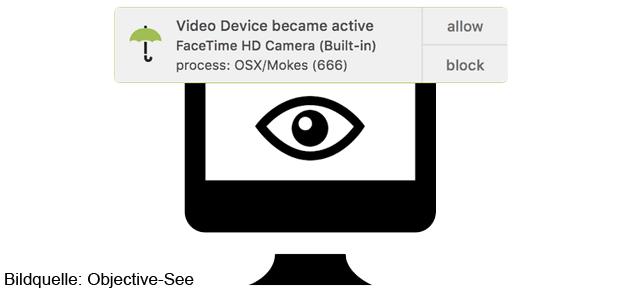 Oversight informiert euch, wenn ein Programm auf die Webcam oder das Mikrofon des Mac zugreifen will. Hier findet ihr Infos zur gratis App für Mac, iMac, MacBook und Co.