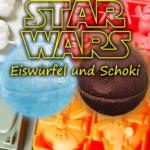 Star Wars Eiswürfelform: auch als Backform und für Schokolade bzw. Pralinen ideal