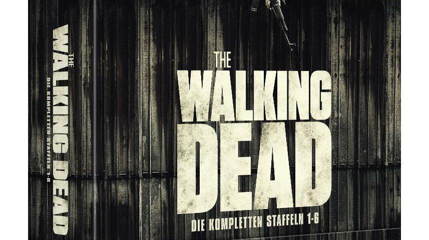 Auf Amazon jetzt vorbestellbar: Die DVD Box von The Walking Dead mit den Staffeln 1 bis 6 (Foto: Amazon).