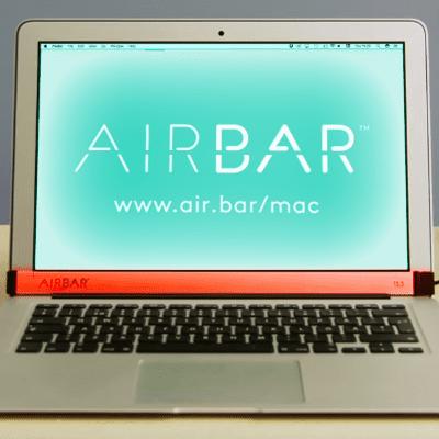 AirBar MacBook Air 2017 kaufen bestellen Amazon Ebay online Shop Display Touchscreen MacBook