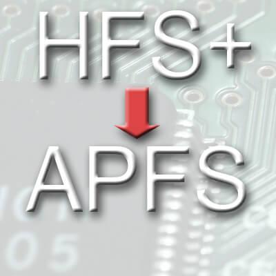 2017 wird Apple das Dateisystem HFS Plus durch APFS in macOS, iOS, watchOS und tvOS ersetzen.