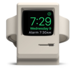 Apple Watch Ladestation im Macintosh 128k Design von ELAGO