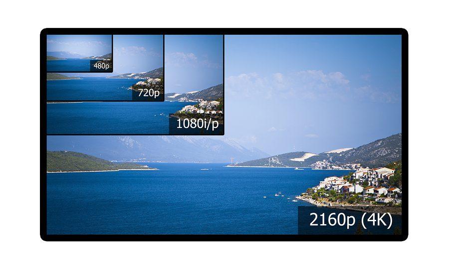 4K Display im Vergleich zu anderen Auflösungen