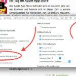 Ohne Addon: Screenshot von kompletter Webseite in Firefox am Mac machen