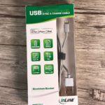 Test: umflochtenes USB-Lightning-Ladekabel mit Alu-Steckern von inLine