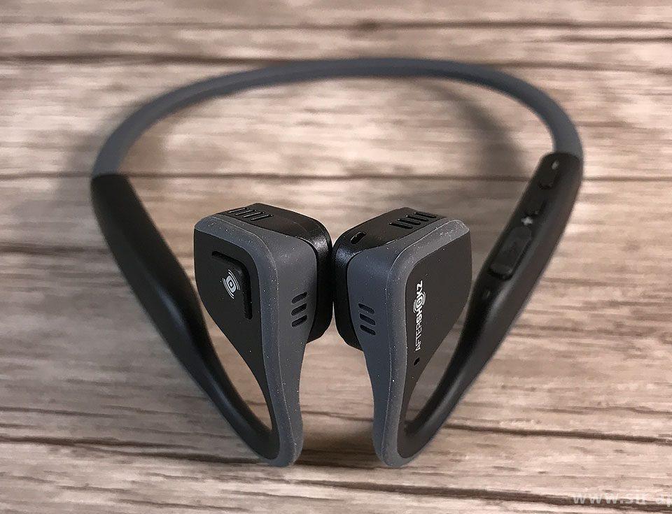 Der Knochenschall-Kopfhörer AfterShokz Trekz Titanium – hier im Test und mit ausführlichem Bericht (Fotos: Sir Apfelot).