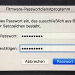macOS Firmware Passwort: PW gegen unerlaubten Zugriff auf Mac und MacBook