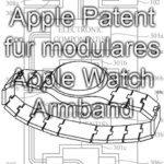 Neues Apple-Patent: Apple Watch 3 macht das Gliederarmband wieder en vogue