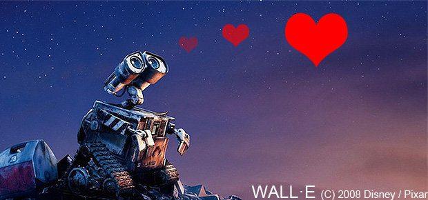 Im Film Wall-E von Disney / Pixar geht es (unter anderem) um die Zuneigung zwischen zwei Robotern - doch was ist, wenn Roboter und Mensch ein einer Beziehung zusammen kommen? Ist Robosexualität ein ernstes Thema?