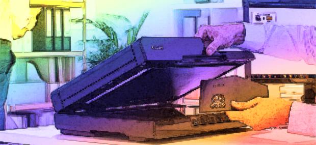 Die Flachbettscanner sind am weitesten verbreitet (Grafik: Foto Canon).