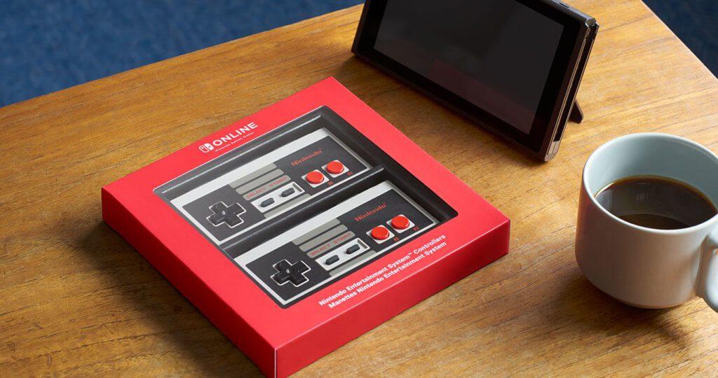 Die Nintendo Switch NES-Controller kann man bereits vorbestellen. Geliefert werden sie im Dezember 2018.