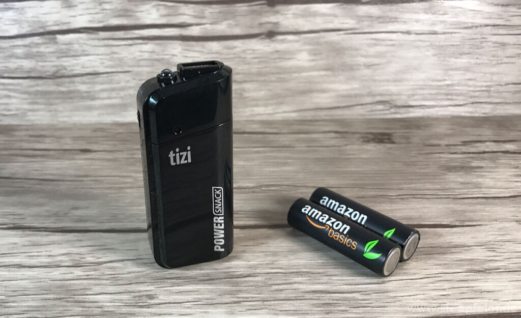 im test tizi powersnack powerbank mit aa akkus batterien. Black Bedroom Furniture Sets. Home Design Ideas