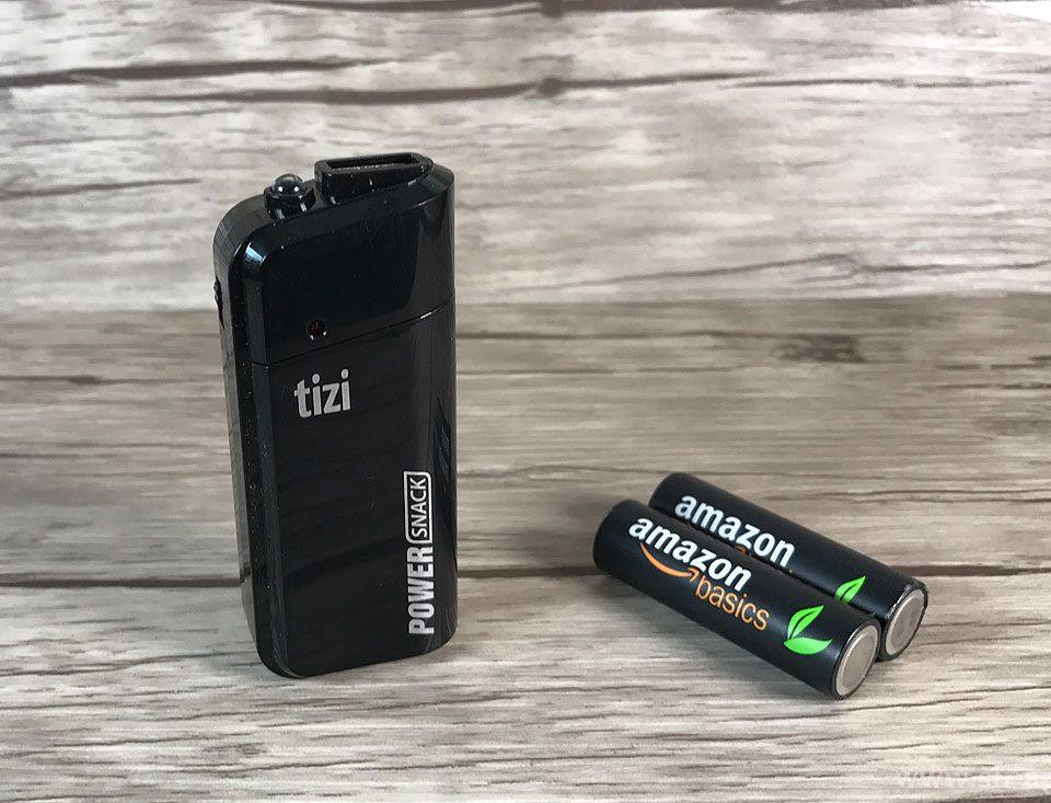 tizi Powersnack – die Powerbank mit AA Mignonzellen von Equinux (Fotos: Sir Apfelot).