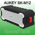 AUKEY SK-M12 SoundTank Bluetooth Outdoor Lautsprecher für anspruchsvolle Einsätze