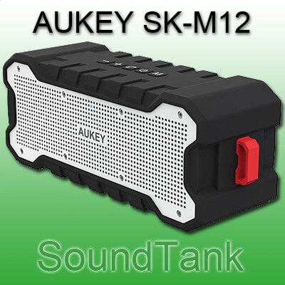 AUKEY Bluetooth Lautsprecher Outdoor Speaker AUKEY SK-M12 iPhone Stereo Speaker