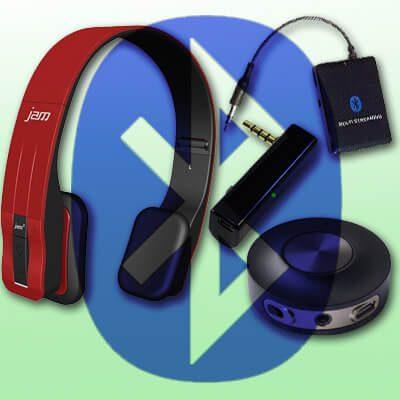 HMDX HX-HP610RD-EU JAM Fusion On-Ear Bluetooth Kopfhörer Bluetooth Audio Splitter gleichzeitig zwei Kopfhörer Musik streamen