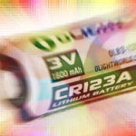 CR123A Batterie