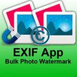 EXIF App und Bulk Photo Watermark: Metadaten von Fotos am Mac auslesen und verarbeiten