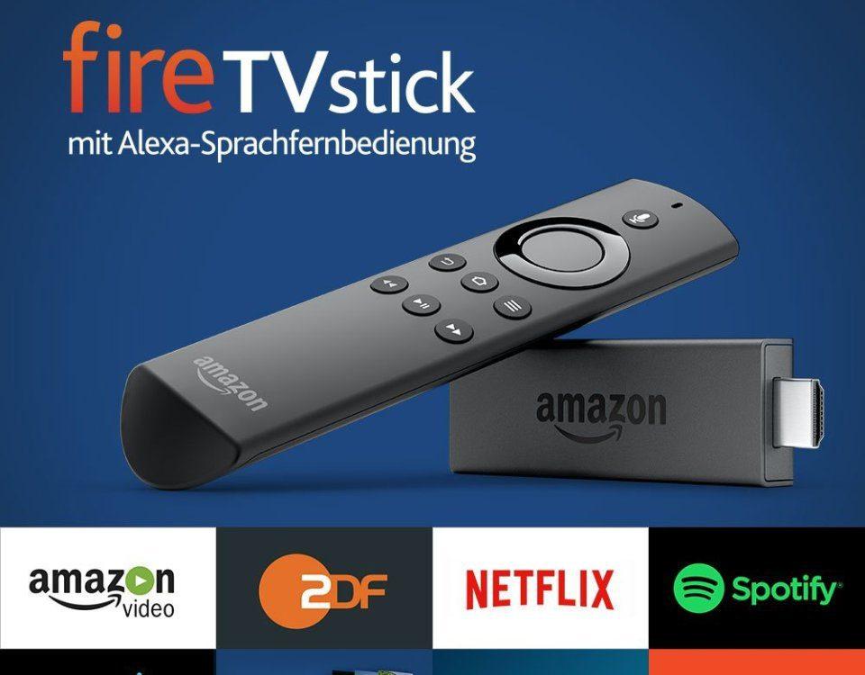 Amazon Fire TV Stick Alexa Spracheingabe, Sprachfernbedienung, Sprachsteuerung bestellen, kaufen, vorbestellen bei Amazon.de