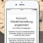 iCloud / Apple-ID Passwort vergessen: Wiederherstellung des Accounts kann dauern
