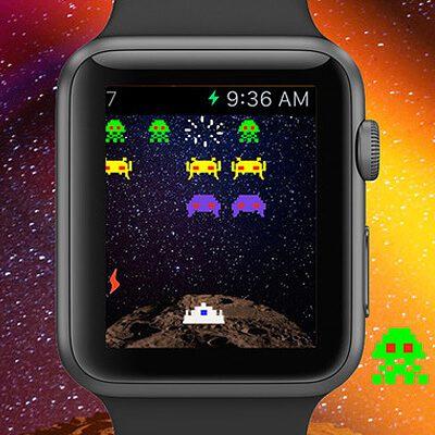Space Invaders App für watchOS 3 und iOS, Invaders mini für Apple Watch herunterladen, App Store für iPhone Download. Space Invaders auf dem iPhone spielen. Kostenlos, gratis.