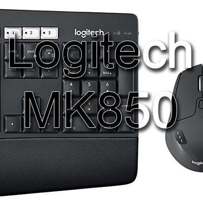 Logitech MK850: Bluetooth Wohlfühl-Duo aus Tastatur und Maus mit Mehrwert