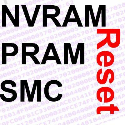 NVRAM Reset, PRAM zurücksetzen, SMC Reset, Anleitung, Apple Mac, MacBook
