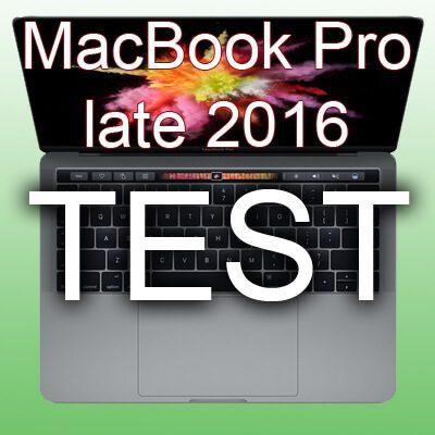 Apple MacBook Pro 2016 Test Testbericht Erfahrungen Erfahrungsbericht 2017