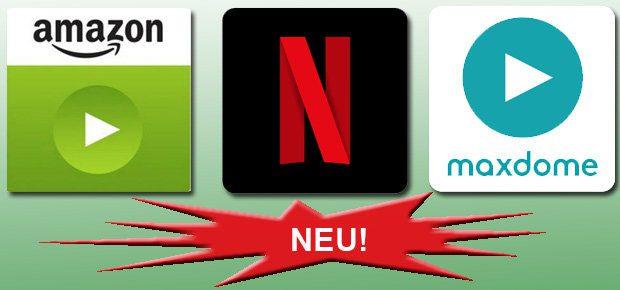 Neuerscheinungen beim VoD-Anbieter Netflix