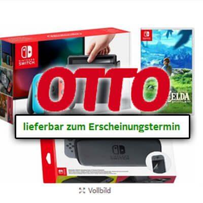 Gefunden bei OTTO.de Nintendo Switch pünktlich geliefert pünktliche Lieferung zum Release vorbestellen