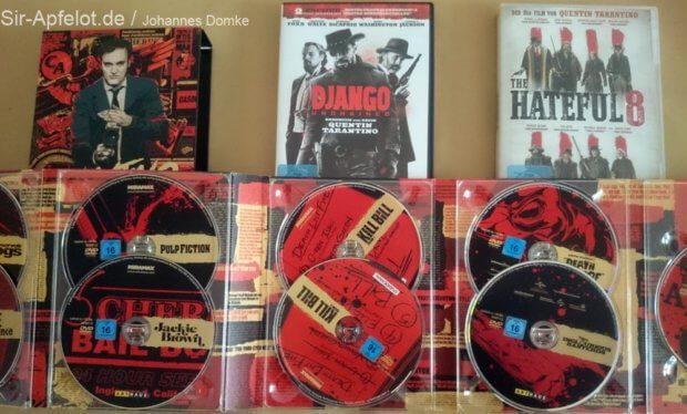 Habe ich alle Filme, bei denen Quentin Tarantino das Drehbuch schrieb und Regie führte auf DVD? Vielleicht ;)