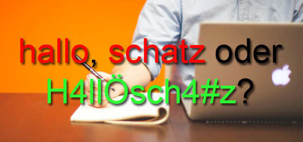 Die Top 10 Passwörter der Deutschen zeigen: die meisten User sind sehr unsicher unterwegs. Wer ein sicheres Passwort für E-Mail-Account, Rechner, iPhone und so weiter sucht, sollte sich der Liste nicht bedienen.
