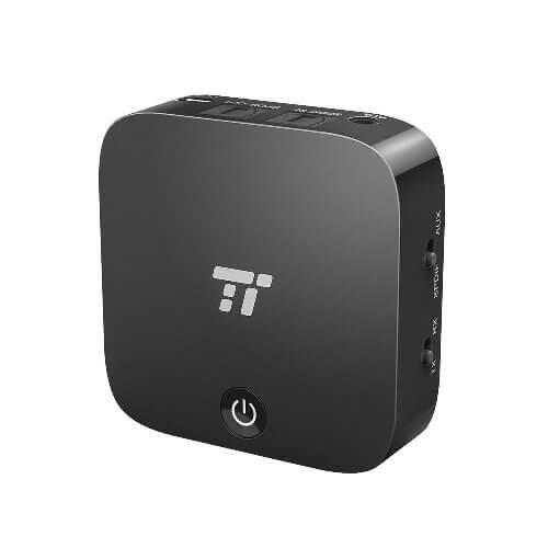 TaoTronics Bluetooth Splitter - über Bluetooth gleichzeitig zwei Kopfhörer zum Musik hören nutzen.