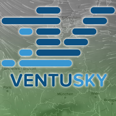 Ventusky Wind and Weather 2017 mobile website weather forecast on map with visualisation waves temperature