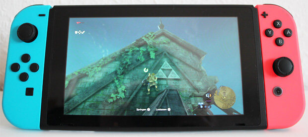 Nintendo Switch Hands On Zelda Breath of the Wild Test Review