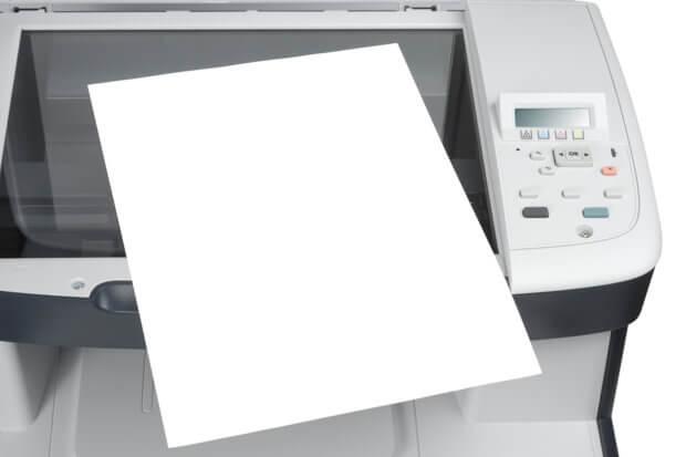 Laserdrucker mit Scanner