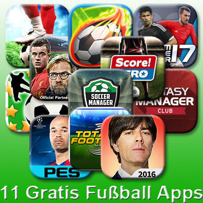 Fußball Apps iPhone Download Apple App Store Gratis Kostenlos Free Play Soccer Manager