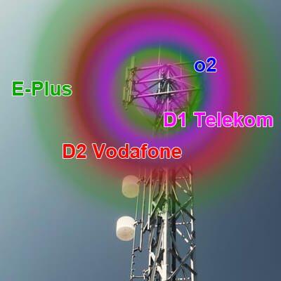 Mobilfunknetze, Mobilfunk Netze, D1 D2 Unterschied, D Netze, E Netz, o2 E-Plus, Vodafone, Telekom, Geschichte Mobilfunk Deutschland