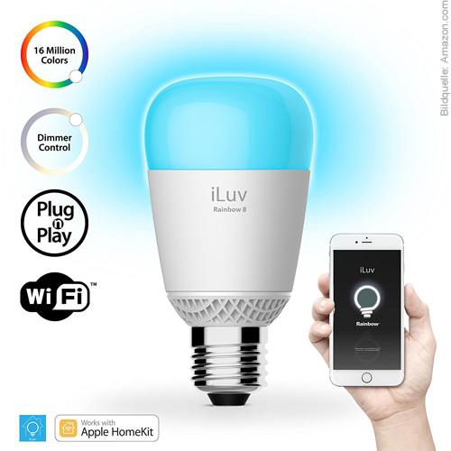 iLuv Rainbow App HomeKit Home App Apple Rainbow 8 LED