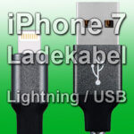 Apple iPhone 7 Ladekabel: MFi-zertifizierte USB auf Lightning Kabel (auch für iPhone 7 Plus)