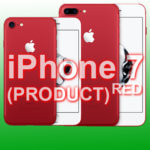 iPhone 7 in Rot: Red Nose Day 2017 mit Apple Smartphone als (PRODUCT)RED™
