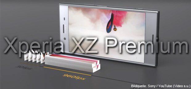 Motion Eye mit bis zu 960 fps beim Sony Xperia XZ Premium, das Mitte 2017 auf den Markt kommt. Mehr Einblicke und Beispiele für die Super-Zeitlupe findet ihr im unten eingebundenen Video. Sony Xperia XZ Premium kaufen, bestellen, vorbestellen, Amazon, ohne Vertrag