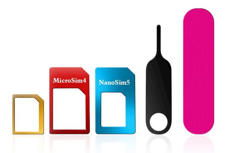 Adapter Für Sim Karte.Sim Karten Adapter Von Nano über Micro Bis Mini Sim